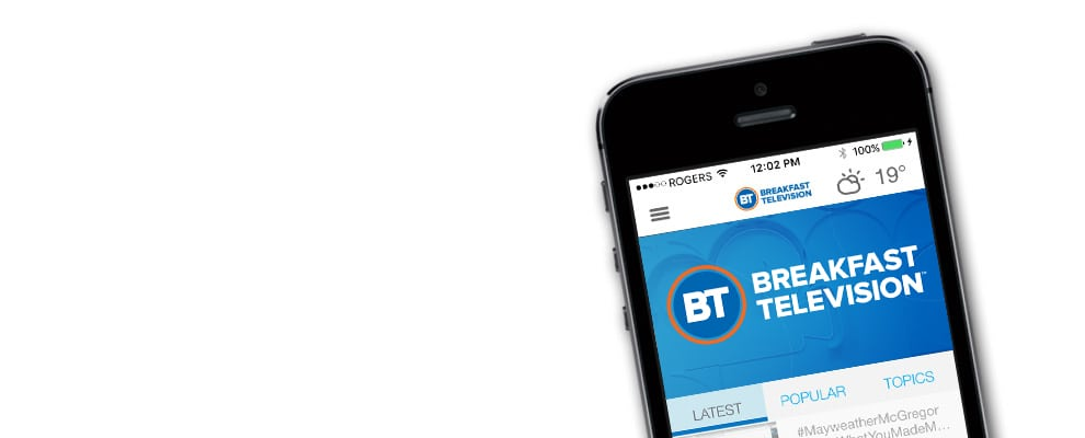 BT Mobile App for iOS